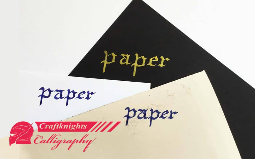 Paper for Calligraphy. Everything you need to know.