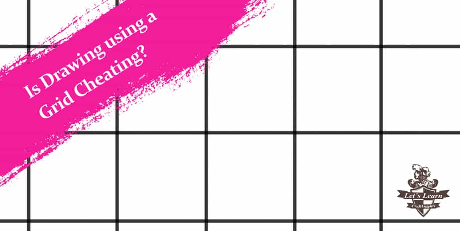 Is Drawing using a Grid Cheating? Why professionals don't use Grids.
