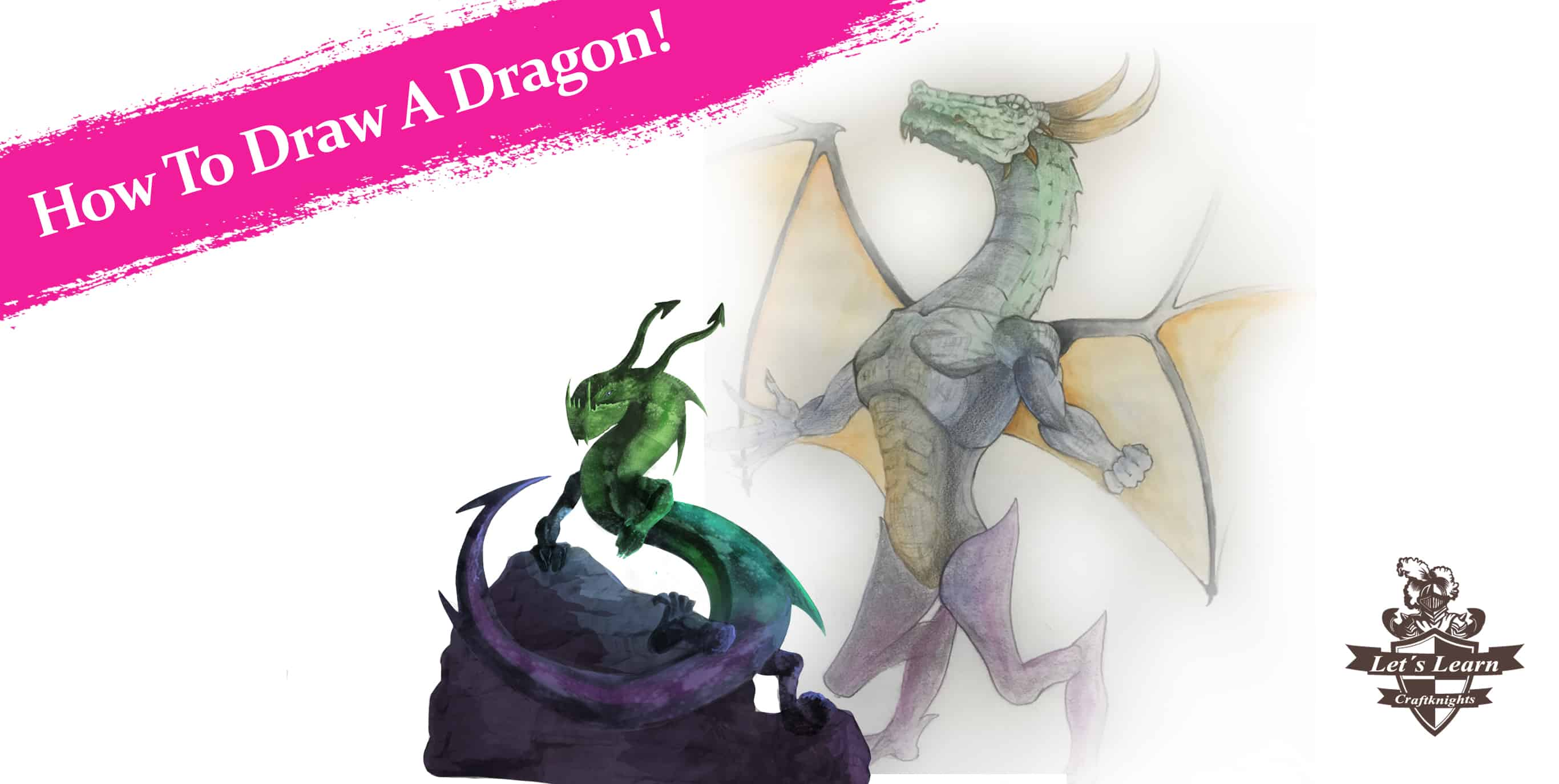 How To Draw A Dragon. Guide For Every Skill Level