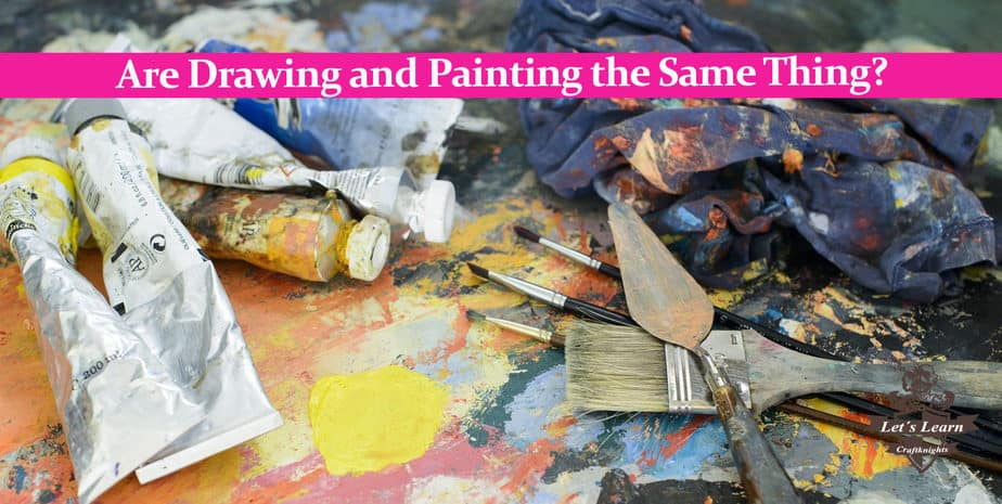 Are Drawing and Painting the Same Thing?