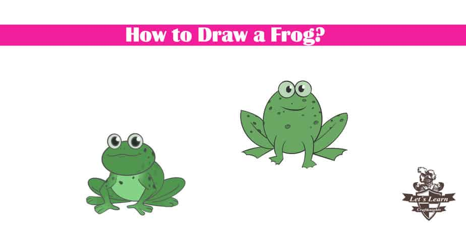 How to Draw a Frog? || Cartoon Style