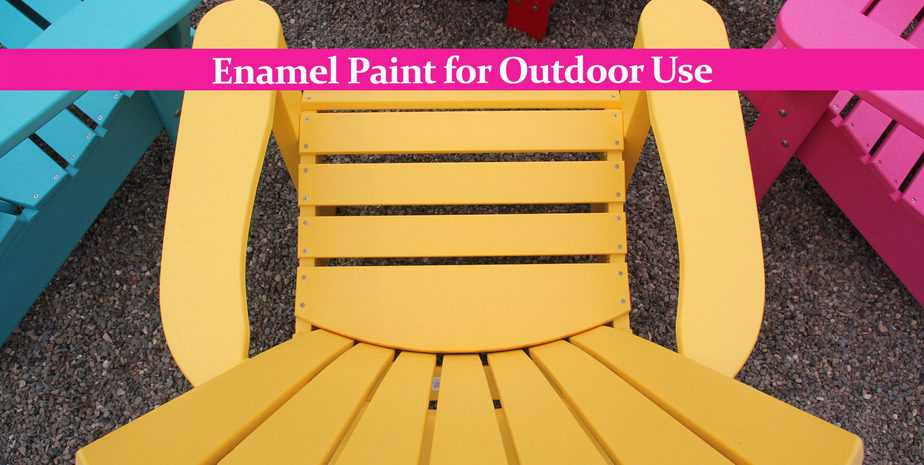 Enamel Paint for Outdoor Use: What to Watch Out For