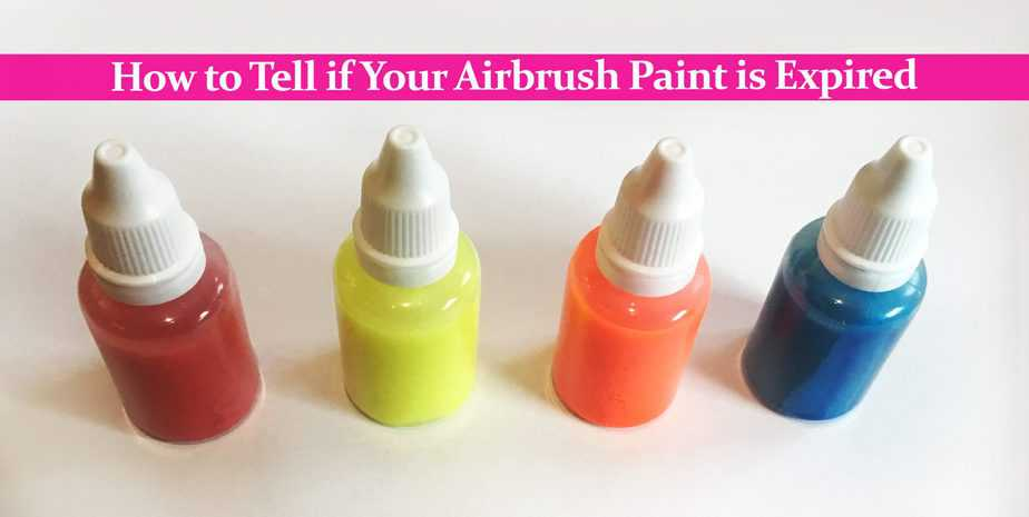 How to Tell if Your Airbrush Paint is Expired