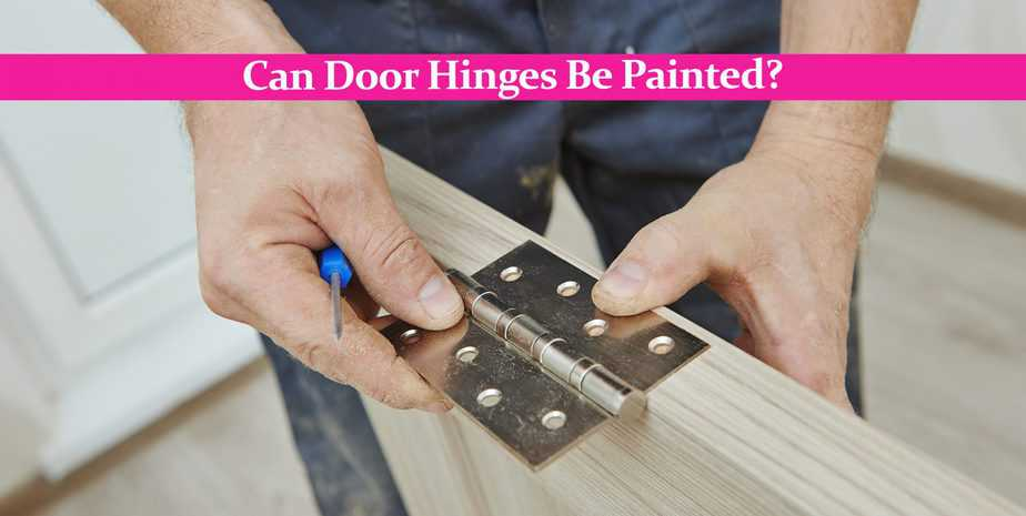 Can Door Hinges Be Painted? – How to Properly Paint Hinges