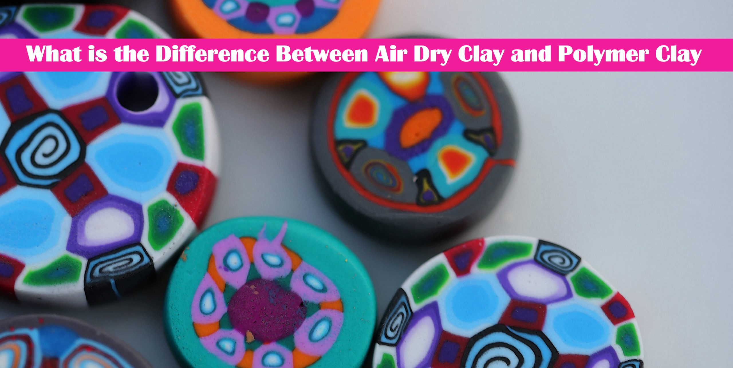 What is the Difference Between Air Dry Clay and Polymer Clay